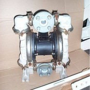 Sandpiper polyprop double diaphragm pump.