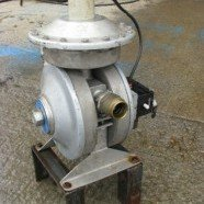 Flotronic 710 stainless steel diaphragm pump.
