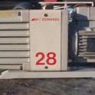 Edwards high vacuum pump set.