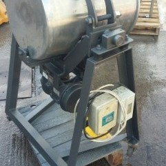Mobile-vibratory-60Lts-drum-powder-shaker
