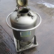 Millipore 40 Lts pressure vessel and filter.